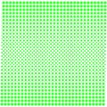 Background texture of dots with gradient green on white.