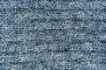 Background, texture of a knitted gray fabric closeup Royalty Free Stock Photo