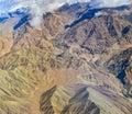 Background texture,mountain range India Royalty Free Stock Photo