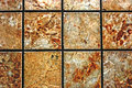 Background and texture paving with pieces of marbles in different colors Stock Photography
