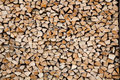 Background texture pile cutted wood Stock Photo