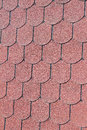 Background or texture seamless red clay roof tiles Royalty Free Stock Photos