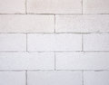 Background texture of white Lightweight Concrete block, Foamed c Royalty Free Stock Photo