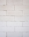 Background texture of white lightweight concrete block foamed c raw material for industrial wall or house wall Royalty Free Stock Images