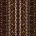 Background with traditional African design Stock Images