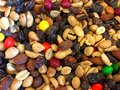 Background of trail mix Royalty Free Stock Photo