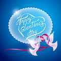 Background on Valentines Day Stock Photography
