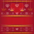 Background valentines day vector for Stock Image