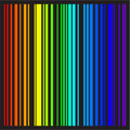 Background - vector stripes in rainbow colors Royalty Free Stock Photography