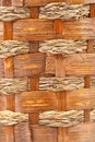 Background of vintage weave wicker basket whole Stock Photo