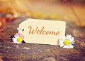 Background welcome Royalty Free Stock Photo