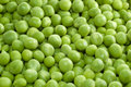 Background of wet green peas Stock Photography