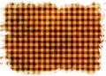 Background with white frame gingham style Royalty Free Stock Image