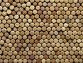 Background of wine corks Royalty Free Stock Photo