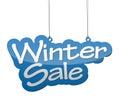 Background winter sale