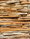 Background from yellow stone wall Royalty Free Stock Photo