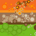 Backgrounds with circles Royalty Free Stock Images