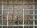 Backgrounds - dirty glass blocks Royalty Free Stock Images