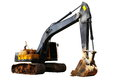 Backhoe. Royalty Free Stock Photography