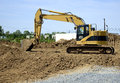 Backhoe Royalty Free Stock Images