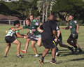 Backlash event rugby championship x location queen kapi olani park waikiki on the island of o ahu hawai i usa subject good Stock Photos