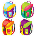 Backpacks Royalty Free Stock Photos