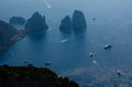 Backside of isle of capri the rugged back bay off the Royalty Free Stock Image