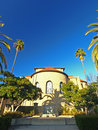The Backside of Memorial Chapel at Stanford Univer Royalty Free Stock Image