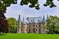 Backside of Schloss Schadau, Thun, Switzerland Royalty Free Stock Photo