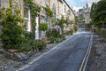 Backstreet at Grassington in Yorkshire, England Royalty Free Stock Photo
