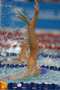 Backstroke arms 01 Stock Photos