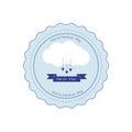 Backup and restore data cloud ribbon badge