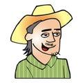 Backwoods man Stock Image
