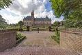 Backyard of the Peace Palace Royalty Free Stock Photo