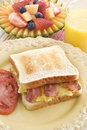 Bacon and Egg Sandwich Breakfast Stock Images