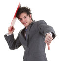 Bad day businessman Stock Photo