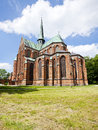 Bad doberan minster the at mecklenburg western pomerania Stock Photography