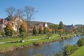Bad kissingen bavaria germany the famous health resort of rhoen region Stock Images
