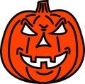 Bad pumpkin Stock Photos
