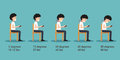 The bad smart phone postures