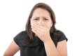 Bad smell Royalty Free Stock Photo