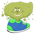 Bad smell from shoes