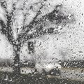 Bad weather driving Royalty Free Stock Photo