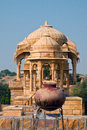 Bada bagh royal cenotaphs Royalty Free Stock Photos