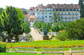 Baden austria july view of on july in is spa town in located about km from vienna it has fifteen Royalty Free Stock Images