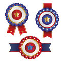 Badge ribbon , Label and Banner Set -