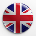 Badge - Union Jack Royalty Free Stock Photo