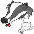 Badger Royalty Free Stock Photos