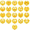 Badges of arms of the Russian Army Royalty Free Stock Images