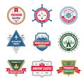 Badges Collection in Vector Format Royalty Free Stock Photo